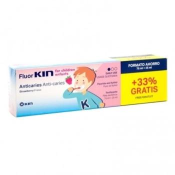FLUOR KIN INFANTIL PASTA ANTICARIES 75ML