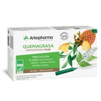 QUEMA GRASA CONCENTRADO PLUS 20 AMPOLLAS