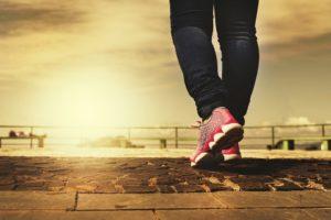 Andar para adelgazar