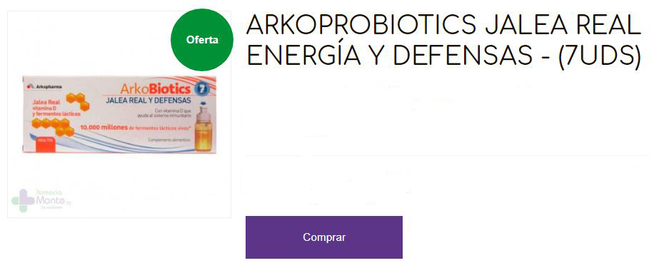 vitaminas Arkopharma